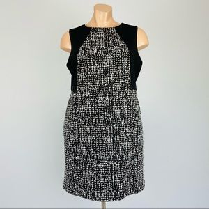 Calvin Klein Tweed Sleeveless Sheath Dress 22W
